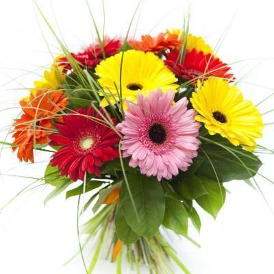 Bouquet des gerberas
