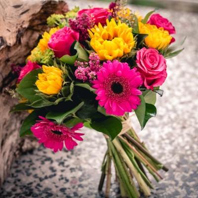 Bouquet des bonheurs pétillants