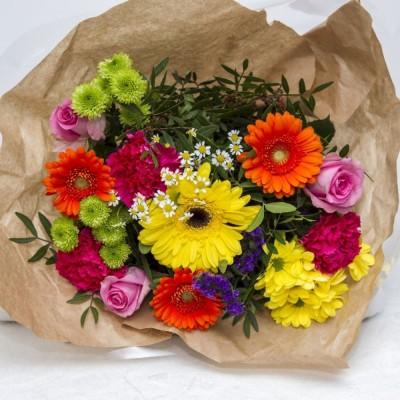 Bouquet des arcs-en-ciel